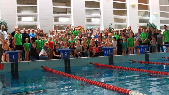 legia - wiosenne zawody pływackie - grupowe ok