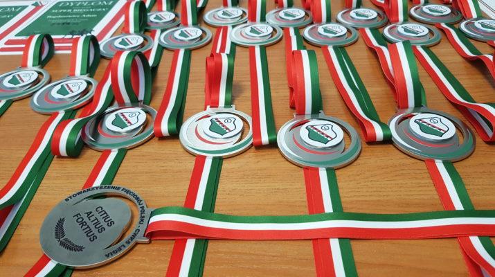 Stowarzyszenie Pięciobój Polski CWKS LEGIA - medale - Jarosław