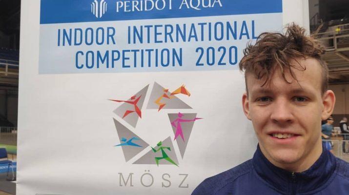 Indoor International Competition 2020 - Daniel Ławrynowicz - pieciobojlegia